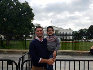 Jon and Little Jon at the White House.