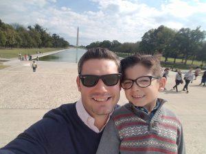 Jon and Little Jon go to Washington D.C.