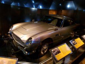 James Bond car in Washington D.C.